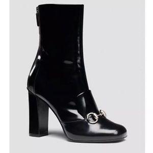 f844c86220e5cc One Day Sale! Gucci Black Patent Lillian Horsebit